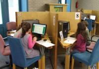 Iskolánk tanulói a Katona József Könyvtár által szervezett Internet Fiestán